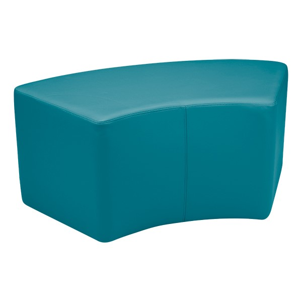 Primary Colors Floor Pillow Set - Shapes Vinyl Soft Seating - S-Curve