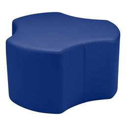 Preschool Room Divider w/ Soft Seating - Shapes Vinyl Soft Seating - Cog