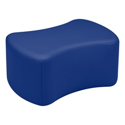 "Shapes Vinyl Soft Seating - Bow Tie (12"" H) - Blue"