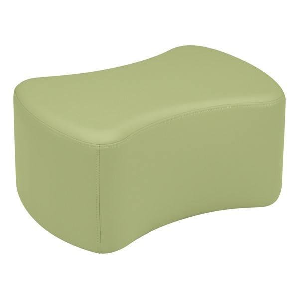 "Shapes Vinyl Soft Seating - Bow Tie (12"" H) - Fern Green"