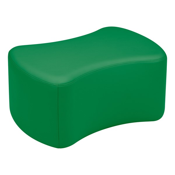 "Shapes Vinyl Soft Seating - Bow Tie (12"" H) - Green"