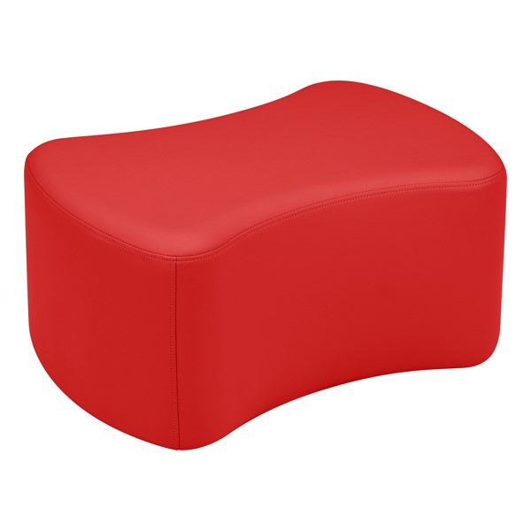 "Shapes Vinyl Soft Seating - Bow Tie (12"" H) - Red"