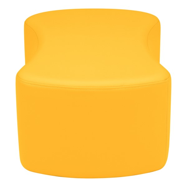 "Shapes Vinyl Soft Seating - Bow Tie (12"" H) - Yellow"