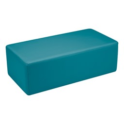 Shapes Vinyl Soft Seating - Rectangle