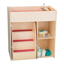 Deluxe Diaper Changing Station w/ Steps