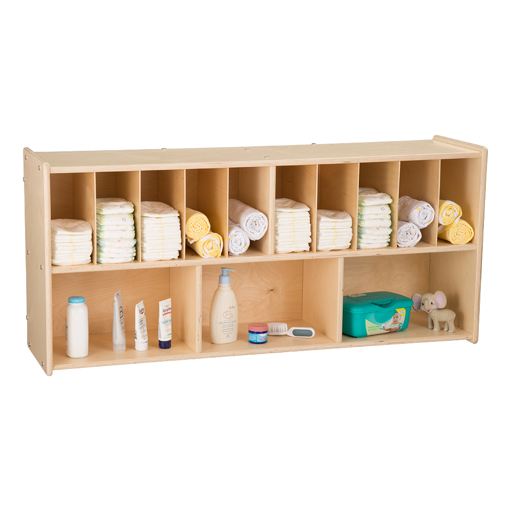 Wall Mount Diaper Storage Unit