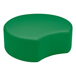 "Shapes Vinyl Soft Seating - Crescent (12"" H) - Green"