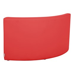 """Shapes Vinyl Structured Soft Seating - Large Huddle 12"""" H (Primary Colors) - Quarter Round Seat - Back"""