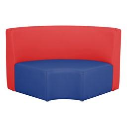 "Shapes Modular School Furniture - 12"" H Quarter Round - Primary Colors"