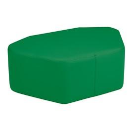 "Shapes Vinyl Soft Seating - Petal (12\"" H) - Green"