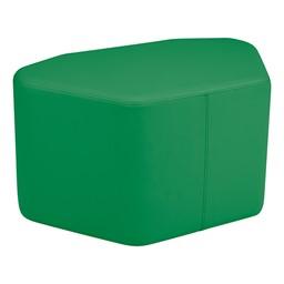 Shapes Vinyl Soft Seating - Petal - Green