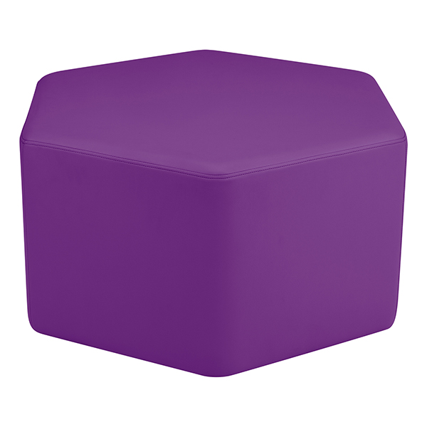 Amazing Sprogs Shapes Vinyl Soft Seating Hexagon At School Outfitters Creativecarmelina Interior Chair Design Creativecarmelinacom