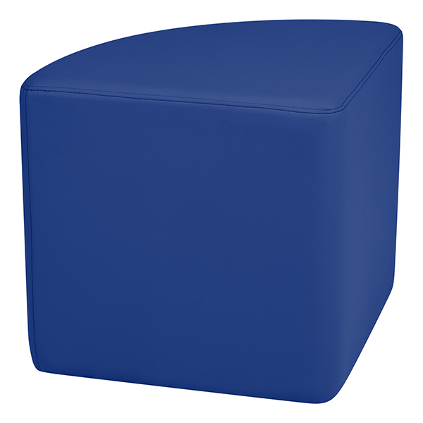 Red Sprogs SPG-1037RD-A Vinyl Soft Seating 18 Pie Shaped Stool