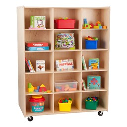 30-Opening Double-Sided Cubby Unit