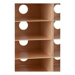 Tablet Charging Cabinet - Unassembled - Grommet Holes
