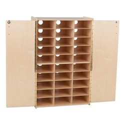 Tablet Charging Cabinet - Unassembled - Open