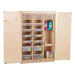Stationary Tall Cabinet