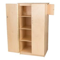 Teacher's Wooden Locking Cabinet