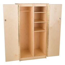 Teacher's Wooden Cabinet w/ Adjustable Shelves