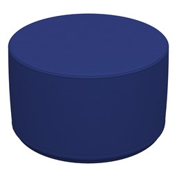"Foam Soft Seating - Blue Cylinder (12"" H)"