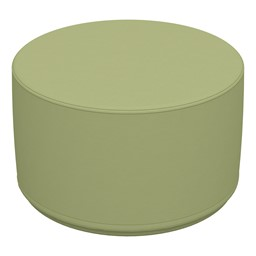 "Foam Soft Seating - Fren Green Cylinder (12"" H)"