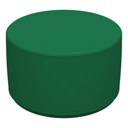 "Foam Soft Seating - Green Cylinder (12"" H)"