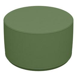 "Foam Soft Seating - Hunter Green Cylinder (12"" H)"