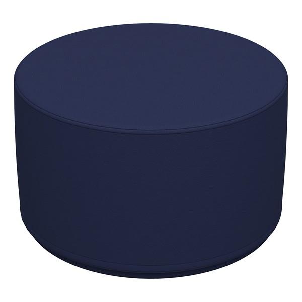 "Foam Soft Seating - Navy Cylinder (12"" H)"