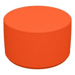 "Foam Soft Seating - Orange Cylinder (12"" H)"