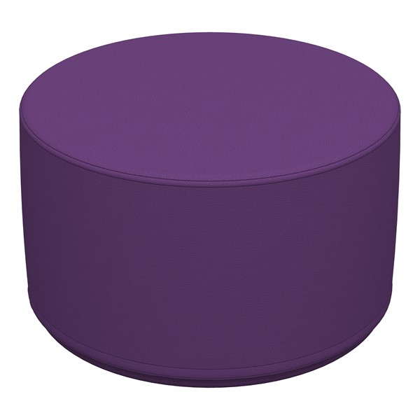 "Foam Soft Seating - Purple Cylinder (12"" H)"