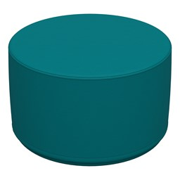 Foam Soft Seating Circle Ottoman - Teal