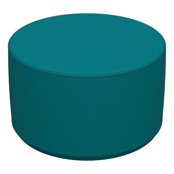 "Foam Soft Seating -Teal Cylinder (12"" H)"