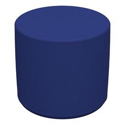 Foam Soft Seating Circle Ottoman - Blue