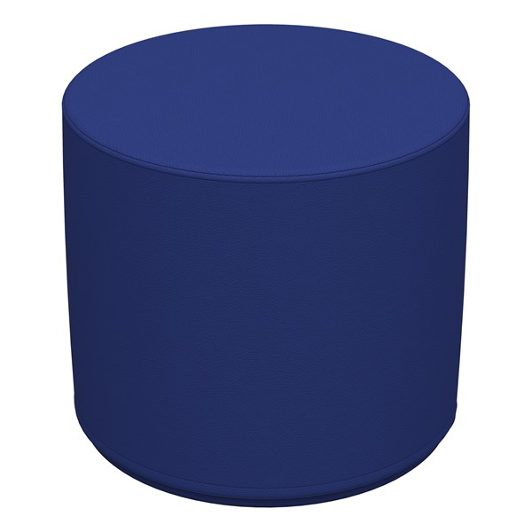 "Foam Soft Seating - Blue Cylinder (16"" H)"