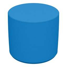 Foam Soft Seating Circle Ottoman - French Blue