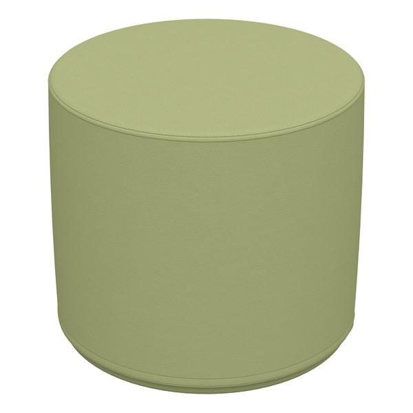 "Foam Soft Seating - Fren Green Cylinder (16"" H)"