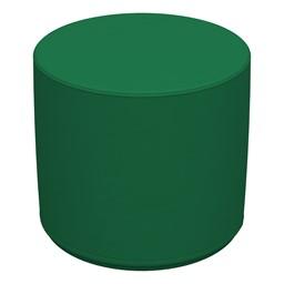 Foam Soft Seating Circle Ottoman - Green