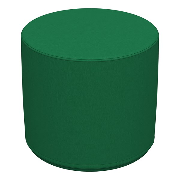 "Foam Soft Seating - Green Cylinder (16"" H)"