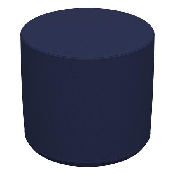 "Foam Soft Seating - Navy Cylinder (16"" H)"