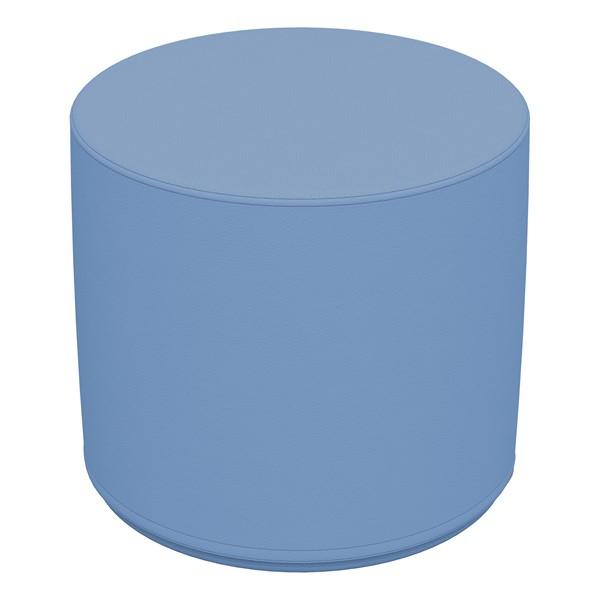 """Foam Soft Seating - Powder Blue Cylinder (16"""" H)"""