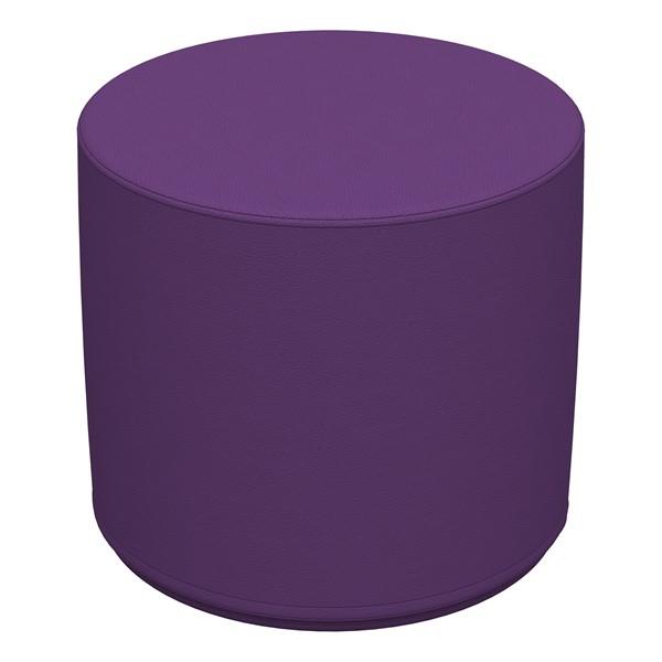"Foam Soft Seating - Purple Cylinder (16"" H)"
