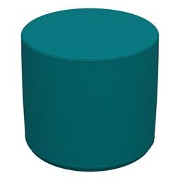 "Foam Soft Seating - Teal Cylinder (16"" H)"