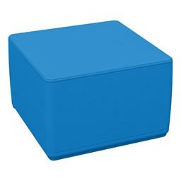 Foam Soft Cube Seat -French Blue