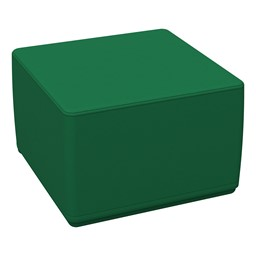 "Foam Soft Cube Seat - Green (12"" H)"