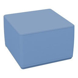 Foam Soft Cube Seat - Powder Blue