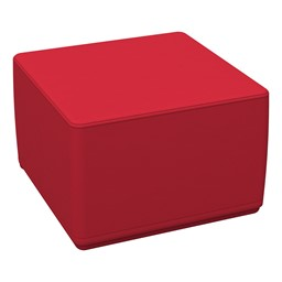 Foam Soft Cube Seat - Red