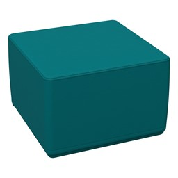 Foam Soft Cube Seat -Teal