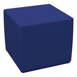 Foam Soft Cube Seat - Blue