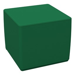 "Foam Soft Cube Seat -  Green (16"" H)"