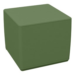 Foam Soft Cube Seat -Hunter Green